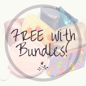 FREE Cosmetics bag w/Bundles of 2+ Other Items!
